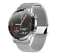abordables -L13 Smartwatch Montre Connectée pour Android iOS Samsung Xiaomi Apple Bluetooth 1.3 pouce Taille de l'écran IP 67 Niveau imperméable Imperméable Ecran Tactile Moniteur de Fréquence Cardiaque Mesure
