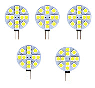 abordables -5pcs 2 W LED à Double Broches 80-100 lm G4 T 12 Perles LED SMD 5050 Blanc Chaud Blanc Froid 12 V