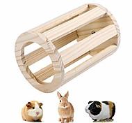 abordables -Support Mangeoires Générique Rabbit Créatif Bois Marron