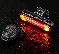 abordables -LED Eclairage de Velo Eclairage de Vélo Arrière LED Vélo Cyclisme Super brillant Télécommande Lithium-ion polymère 180 lm Batterie rechargeable Couleur double source lumineuse Cyclisme