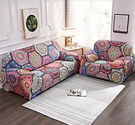 abordables -1 pièce vintage housse de canapé housse de canapé protecteur de meubles housse extensible souple tissu jacquard spandex super fit pour 1 ~ 4 canapé coussin et canapé en forme de L, facile à installer