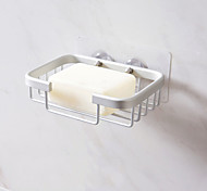 economico -portasapone di scarico in alluminio spazio creativo toilette pugno gratuito scatola di sapone porta sapone in metallo per bagno