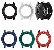 economico -Custodie Per Samsung Galaxy Gear S3 Frontier / Samsung Galaxy Watch 46 Silicone Proteggi Schermo Custodia per Smartwatch  Compatibilità
