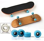 economico -1 pcs Skateboard finger Mini tastiere Tastiere in legno Giocattoli per dita di legno Metallo con ruote e strumenti di ricambio Pattinare Per bambini Teen Bomboniere per i regali per bambini