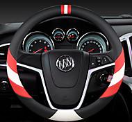 economico -il volante per auto moda copre in pelle 38 cm antiscivolo traspirante per accessori auto buick quattro stagioni