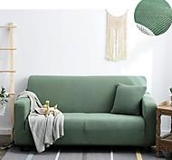 economico -copridivano copriletto fodera per mobili tinta unita morbida fodera elasticizzata adatta per poltrona / divanetto / tre posti / quattro posti / divano a forma di l facile da installare