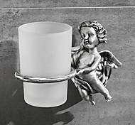 abordables -Porte Brosse à Dent Créatif Moderne Métal 1 pc Montage mural