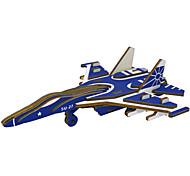 abordables -Puzzles 3D Kit de Maquette Avion Chasseur A Faire Soi-Même Papier de haute qualité Classique Enfant Unisexe Garçon Fille Jouet Cadeau