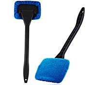 abordables -1 pc Plastique Brosse de lavage de voiture Doux Bleu