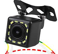 economico -ziqiao 480tvl 720 x 480 ccd cablato 170 gradi telecamera per retrovisione impermeabile per auto