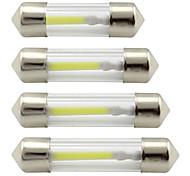 economico -Auto LED Luci interne 31mm / 41mm / 36mm Lampadine 200 lm COB 1 Per Universali Tutti gli anni 2 pezzi