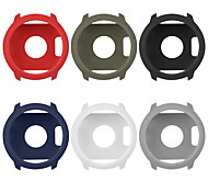 abordables -Coque Pour Garmin Forerunner 645 / Musique de Forerunner 645 Silicone Protection Ecran Boîtier de montre intelligente Compatibilité