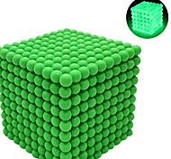 abordables -216-1000 pcs 3 mm Jouets Aimantés Jouet Magnétique Boules Magnétiques Aimants de terres rares super puissants Cube casse-tête Jouets Aimantés Aimant Néodyme Phosphorescent Soulagement de stress et