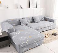 abordables -Housse de canapé élastique simple vent nordique Housse de canapé extensible pour trois personnes