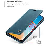 economico -telefono Custodia Per Huawei Integrale Custodia in pelle Porta carte di credito HUAWEI P40 HUAWEI P40 Pro HUAWEI P40 Pro + A portafoglio Porta-carte di credito Resistente agli urti Tinta unita pelle