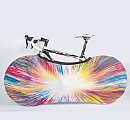 economico -Nuckily Copribicicletta Decorativo Duraturo Sicurezza Per Bici da strada Mountain bike Bicicletta pieghevole Ciclismo ricreativo Bicicletta a scatto fisso Ciclismo Tessuto Verde / giallo Multicolore