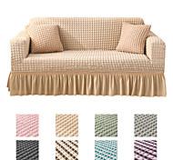 abordables -Housse de canapé Rayé / Couleur Pleine / Classique Teinture Polyester Literie