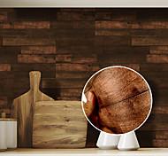 economico -venatura del legno modello piastrelle pavimento adesivo pvc bagno cucina impermeabile adesivo da parete home decor tv divano wall art murale 1 pz 56 * 19 cm