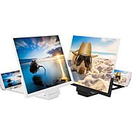 abordables -14 pouces pliable hd tv vidéo table mobile téléphone loupe d'écran pour écran agrandi 3d smart téléphone mobile loupe