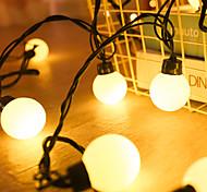 abordables -guirlande extérieure de mariage led 6m 20leds guirlandes étanches lumières de noël led globe feston ampoule guirlande ip65 activité de plein air fête jardin guirlande décor éclairage ac220-240v prise