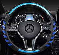 economico -volante per auto moda copre 38 cm in pelle antiscivolo traspirante per accessori auto benz quattro stagioni