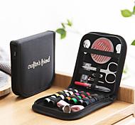 abordables -créatif outil de couture à la main 10 pcs ensemble maison voyage boîte à couture portable couture aiguille boîte kit de couture