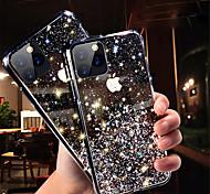 economico -telefono Custodia Per Apple Per retro iPhone 11 iPhone 11 Pro iPhone 11 Pro Max Glitterato Cielo Glitterato TPU