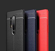 economico -telefono Custodia Per OnePlus Per retro Silicone Custodia in pelle OnePlus 8 Pro OnePlus 8 Ultra sottile Tinta unica pelle sintetica Silicone