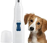 economico -Prodotti per cani Prodotti per gatti Tagliaunghie Smerigliatrice per unghie ABS + PC Tagliaunghie Lima cuticole Mini Elettrico Ricaricabile via USB Casual / quotidiano Animali domestici Prodotti per