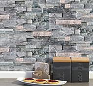 abordables -20x10 cm x 9 pcs gris foncé pierre brique stickers muraux rétro étanche à l'huile imperméable carrelage papier peint pour cuisine salle de bains sol mur décoration de la maison
