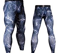 economico -JACK CORDEE Per uomo Pantaloni Pantaloni a compressione Sportivo Livello Base Calze / Collant / Cosciali Ghette Inverno Corsa Jogging Addestramento Traspirazione umidità Asciugatura rapida Traspirante