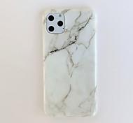 economico -telefono Custodia Per Apple Per retro iPhone 11 iPhone XR iPhone 11 Pro iPhone 11 Pro Max iPhone XS Max iphone 7/8 iphone 7Plus / 8Plus iPhone X / XS iPhone SE 2020 Fantasia / disegno Effetto marmo
