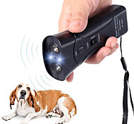 economico -nuovo cacciatore di cani ad ultrasuoni aggressivo addestratore repeller attacco led torcia addestramento repeller controllo anti abbaiare abbaiare