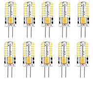 economico -10 pezzi 2 W Luci LED Bi-pin 200-250 lm G4 48 Perline LED SMD 3014 Decorativo