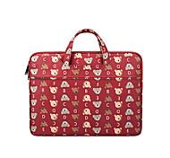 economico -borsa a mano in tela per laptop per macbook air slim resistente con tasca con cerniera 13 14 15,6 pollici