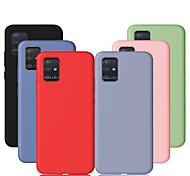 economico -telefono Custodia Per Samsung Galaxy Per retro Silicone Custodia in silicone A50 Samsung Galaxy A80 A71 Resistente agli urti Tinta unita TPU Silicone