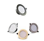 abordables -4 pcs LED Downlight 3 W Ronde Lampe Encastrée 220 V 230 V 240 V LED Ampoule Chambre Cuisine Intérieure LED Spot Éclairage
