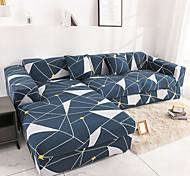 abordables -nordique simple vent élastique housse de canapé extensible unique trois personnes combinaison housse de canapé