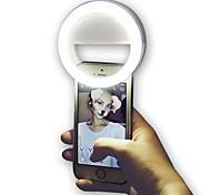 economico -Tonda Luce notturna a LED Luce intelligente a LED 3 modi Oscurabile Flash per selfie Batterie AAA alimentate 1 pc