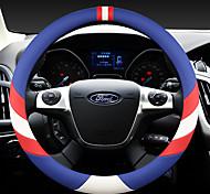economico -il volante per auto moda copre in pelle 38 cm antiscivolo traspirante per accessori auto ford quattro stagioni