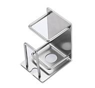 economico -Porta-denti Impermeabile / Auto-adesivo / Contenitore Contemporaneo moderno Acciaio inossidabile 2 pezzi Accessori per la toilette / organizzazione del bagno