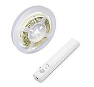 economico -1m Strisce luminose LED flessibili Strisce luminose RGB 30 LED 2835 SMD 10mm 1 set Bianco caldo Bianco Halloween Natale Impermeabile USB Decorativo Alimentazione USB