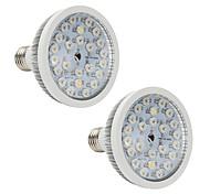 abordables -2pcs 13 W 580-660 lm 24 Perles LED Créatif Spectre complet Installation Facile Lampes Horticoles LED Rouge 85-265 V Serre de légumes / RoHs / CE / FCC