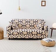 abordables -Housse de canapé élastique de couleur unie simple nordique Housse de canapé simple double pour trois personnes