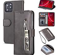 economico -telefono Custodia Per Apple Per retro Custodia in pelle iPhone 12 Pro Max 11 SE 2020 X XR XS Max 8 7 Porta-carte di credito Resistente agli urti Mattonella pelle sintetica TPU