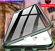 economico -telefono Custodia Per Apple Integrale iPhone 12 Pro Max 11 SE 2020 X XR XS Max 8 7 6 Resistente agli urti Con chiusura magnetica A calamita Transparente Tinta unita Vetro temperato Metallo