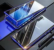 economico -telefono Custodia Per Apple Samsung Galaxy Integrale S9 S9 Plus S8 Plus S8 Nota 9 Nota 8 S10 S10 + A30 A50 Resistente agli urti Transparente A calamita Transparente Tinta unita Vetro temperato Metallo