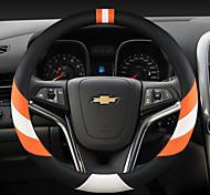 economico -volante per auto moda copre 38 cm in pelle antiscivolo traspirante per auto chevrole quattro stagioni