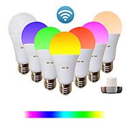 economico -1pc 9 W Lampadine LED smart 810 lm E26 / E27 A60(A19) 34 Perline LED SMD 2835 Controllo APP Smart Sincronizzazione RGB & CW 85-265 V / Oscurabile
