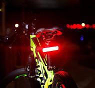 economico -LED Luci bici Luce posteriore per bici luci di sicurezza Luci di coda LED Bicicletta Ciclismo Grandangolo Rilascio rapido Colore Graduale e Sfumato Litio-polimero 120 lm Batteria ricaricabile Rosso